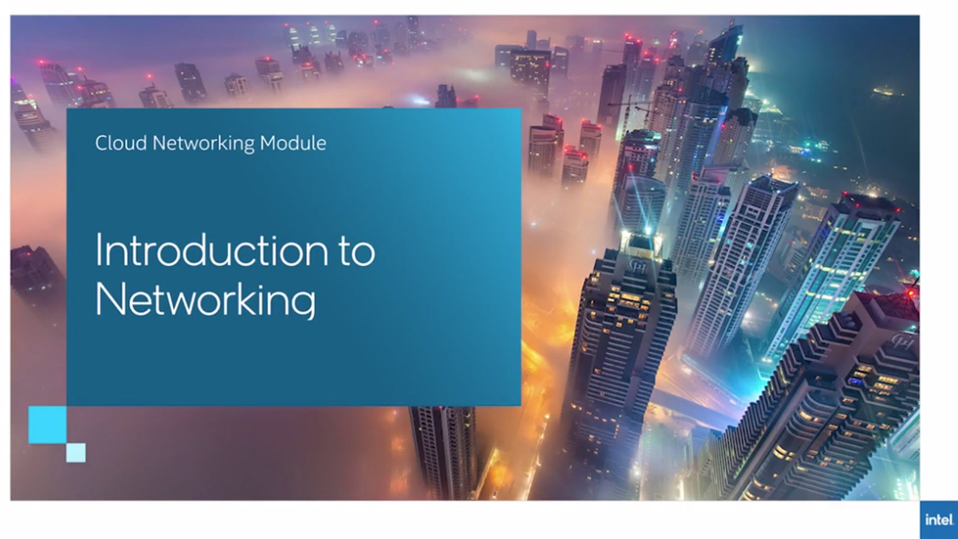 Chapter 1: Introduction to Networking