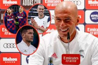 Zidane, contundente: La crisis del Barcelona, fichar un