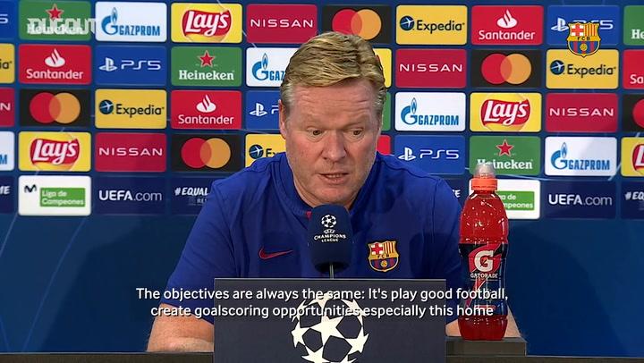 "Koeman: ""We need to score more goals"""