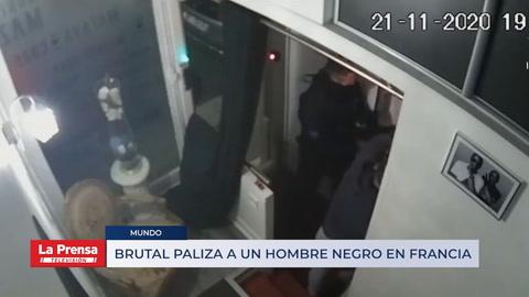 Brutal paliza a un hombre negro en Francia