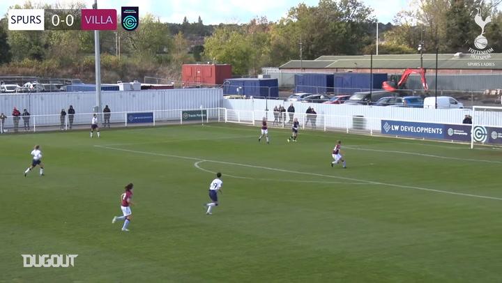 Spurs Women fight back to down Aston Villa