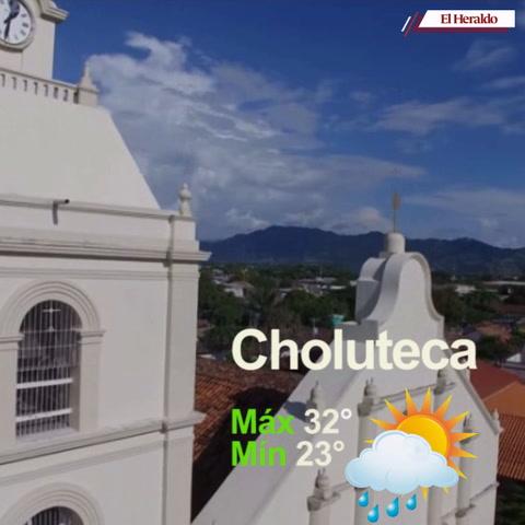 Estas son las condiciones del tiempo para este jueves en Honduras