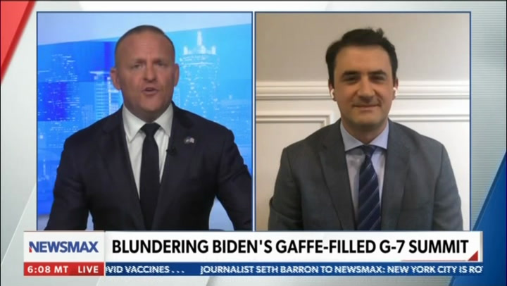 Marlow Rips Biden for Going After Trump, GOP at G7 -- 'Truly Disgraceful'