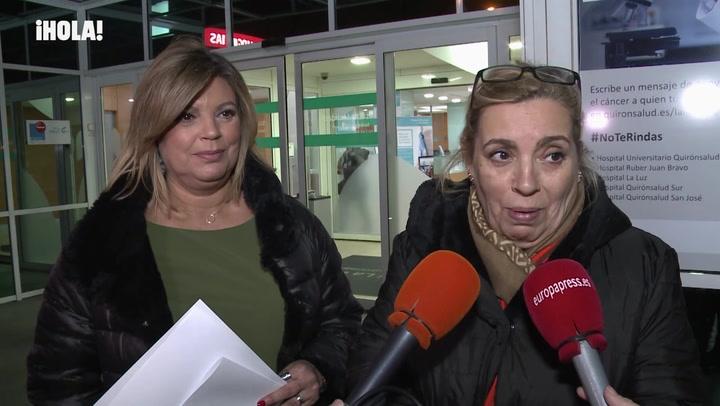 Terelu Campos revela el \'sufrimiento\' y el \'miedo\' que ha vivido su madre