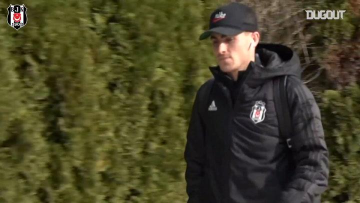 Beşiktaş Erzurum'a ulaştı