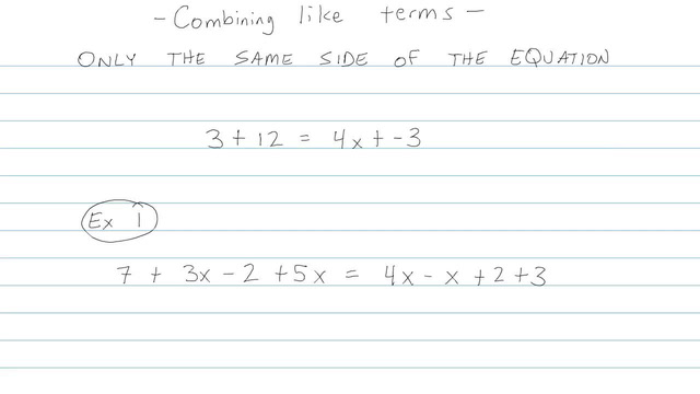 Simplifying Expressions and Combining Like Terms - Problem 6