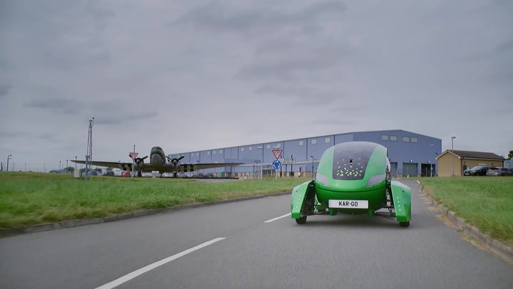 Royal Air Force trialing the use of self-driving, zero-emissions cars