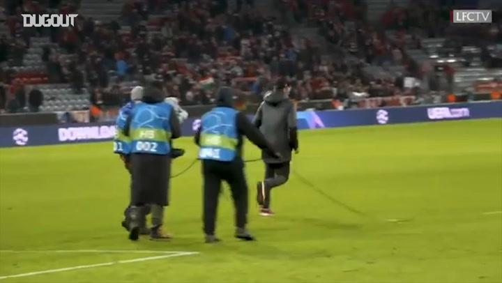Jurgen Klopp Celebrates Bayern Victory