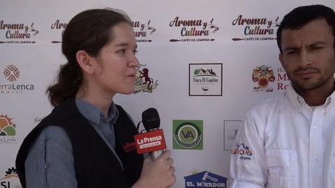 Cafetaleros de Lempira van a exportar tras exitoso festival