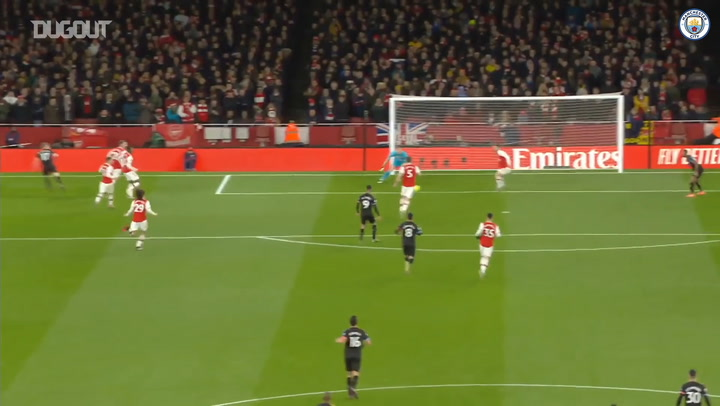 The best of Kevin De Bruyne against Arsenal
