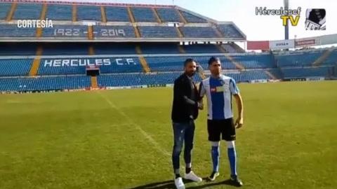 El delantero hondureño Jona Mejía tiene nuevo equipo en España