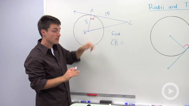 Radii to Tangents - Problem 3