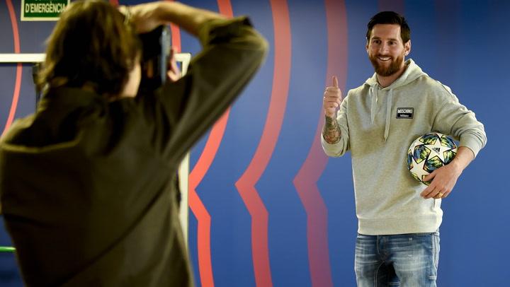 Messi analiza la llegada de Setién