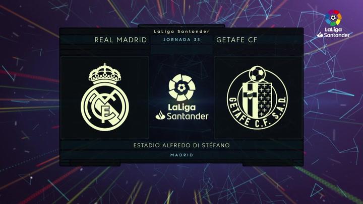 LaLiga Santander (Jornada 33): Real Madrid 1-0 Getafe