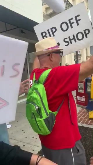 Protester Attacks Key West Cosmetic Company Employee