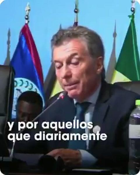 Macri: El país desconocerá el resultado de los comicios venezolanos