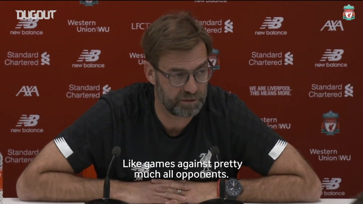 Jürgen Klopp previews 'very important' Manchester United clash