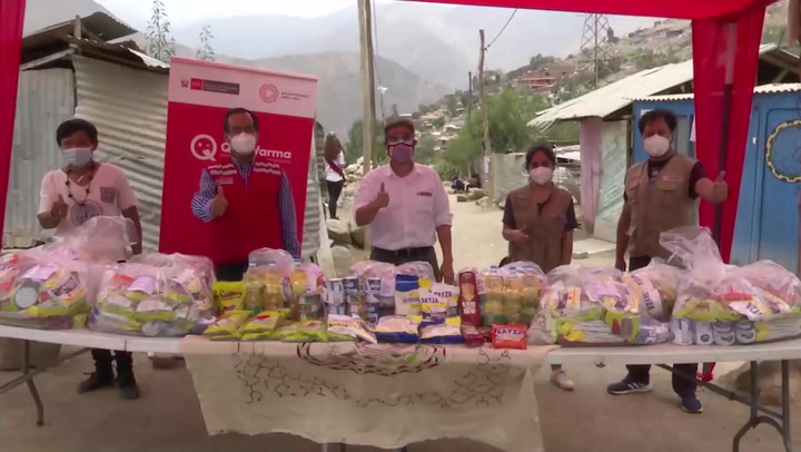 Ministerio de Cultura lleva alimentos a la comunidad Shipibo-Konibo