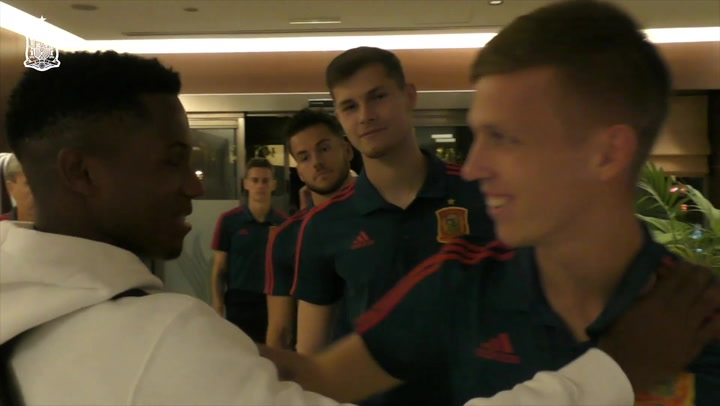 Ansu Fati ya se encuentra concentrado con la Sub-21