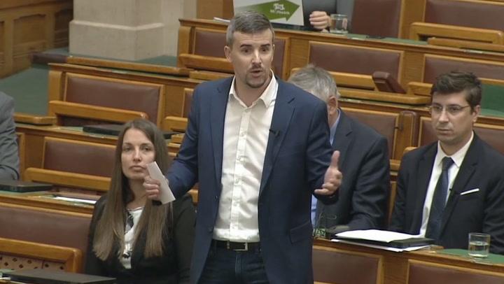 Jakab Péter elfoglalta Orbán Viktor székét