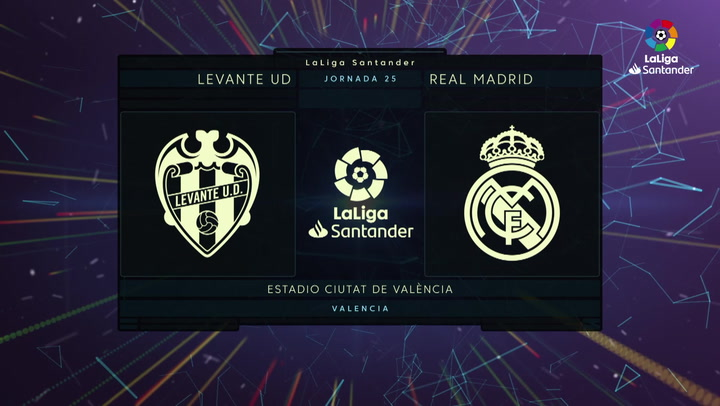 LaLiga Santander (J25): Resumen y gol del Levante 1-0 Real Madrid