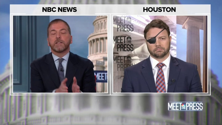 NBC's Todd Battles Dan Crenshaw Over 'Liberal' Media