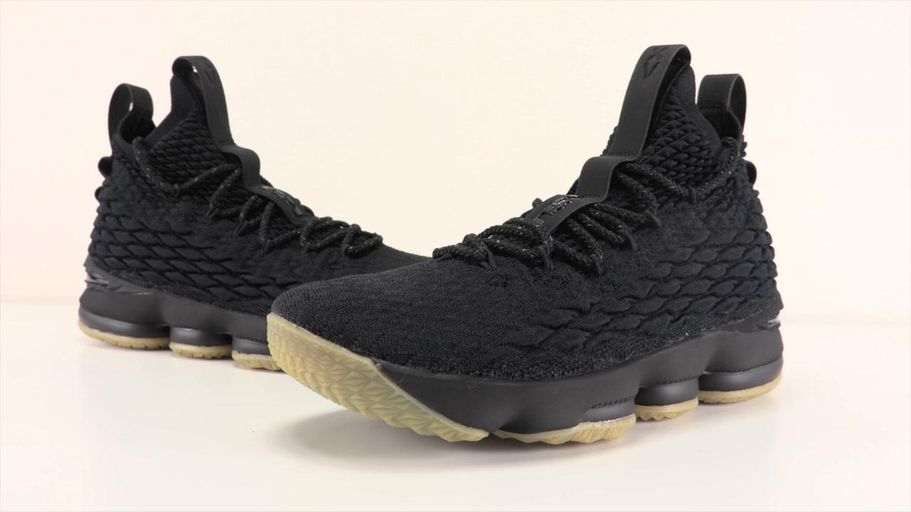 97ee9fa94dbe Nike LeBron 15 Black Gum 897648-300 Release Date