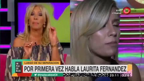 A Fede lo amo pero hay cosas que no están bien, dijo Laurita Fernández
