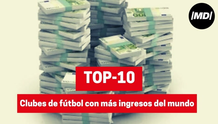 Los 10 equipos de fútbol con más ingresos del mundo