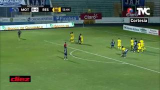 Tapadón de 'Buba' López a Kevin López: voló para evitar el primer gol de Motagua