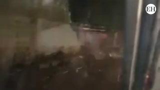 Inundaciones y caída de muro dejan lluvias en Tegucigalpa
