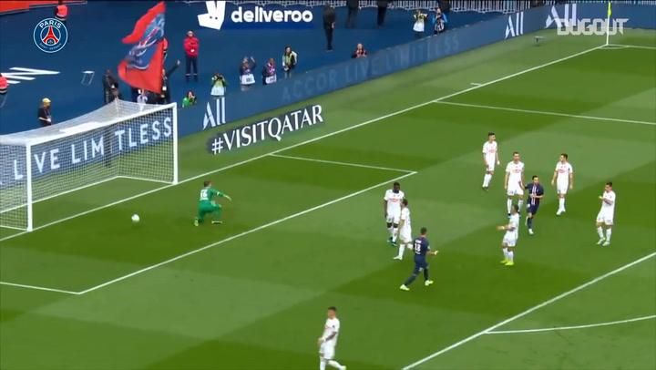 Paris Saint-Germain's superb victory vs Angers in the 2019-20 season