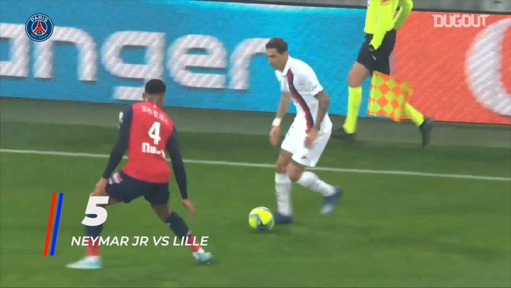 Paris Saint-Germain's best five goals in the 2019-20 Ligue 1 season