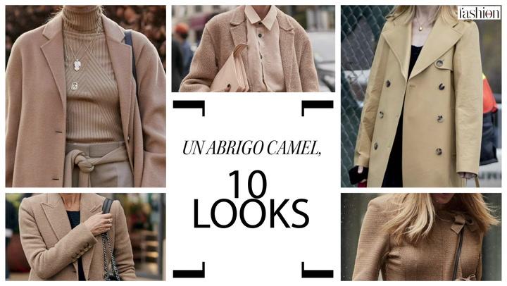 Un abrigo camel, 10 looks de tendencia