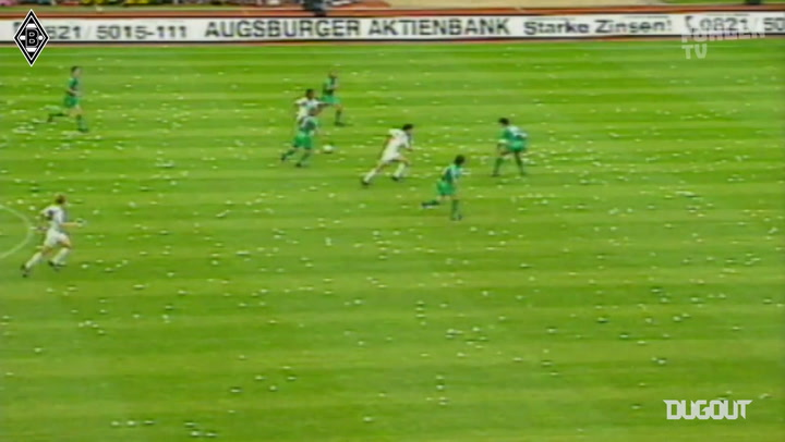 Borussia Monchengladbach's 1995 DFB-Pokal triumph