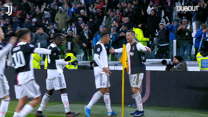 Cristiano Ronaldo double downs Parma