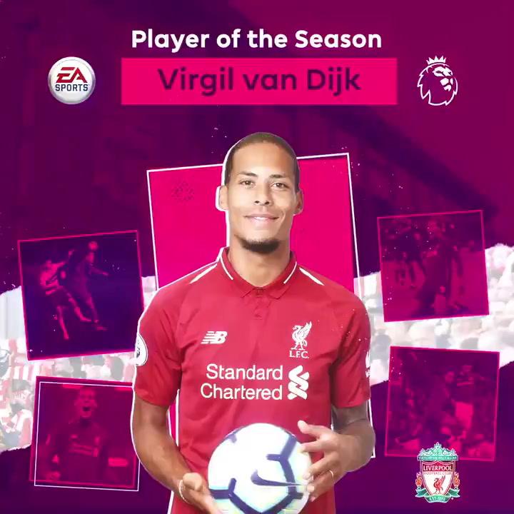 La Premier escoge a Van Dijk como el mejor de la temporada
