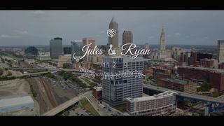 Jules + Ryan | Cleveland, Ohio | The Westin