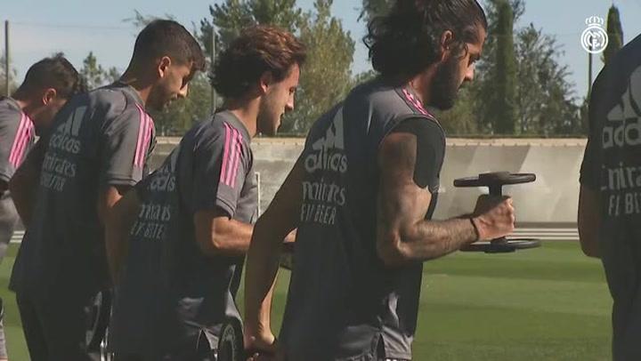 El Real Madrid inicia la semana sin Marco Asensio