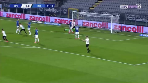 Spezia 1-1 Inter de Milán (Serie A)