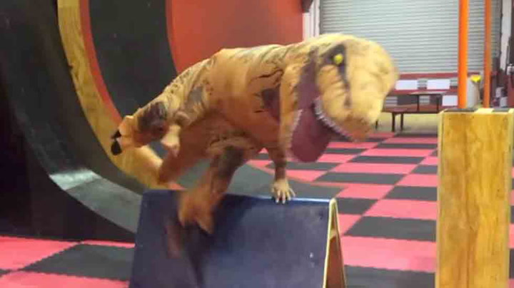 Kan du se for deg denne T-rex-utgaven jage deg?