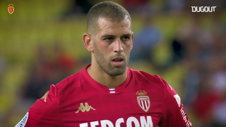 Islam Slimani's impressive start to life at AS Monaco
