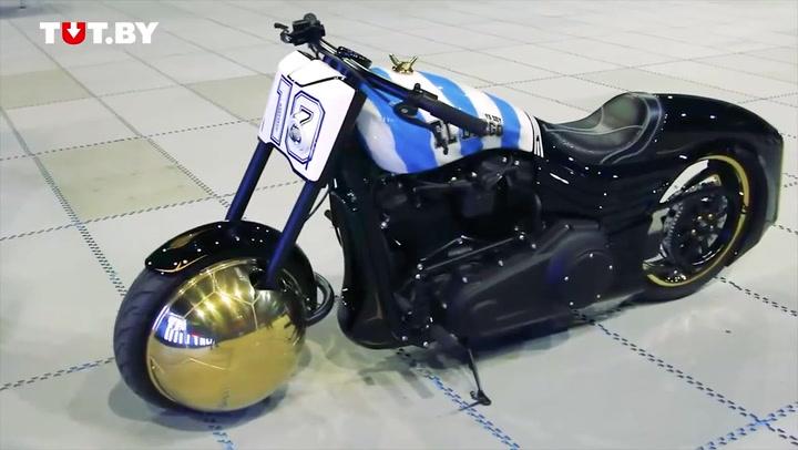Así era la 'Harley Davidson' de Maradona
