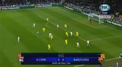 Lyon 0 - 0 Barcelona (Uefa Champions League)