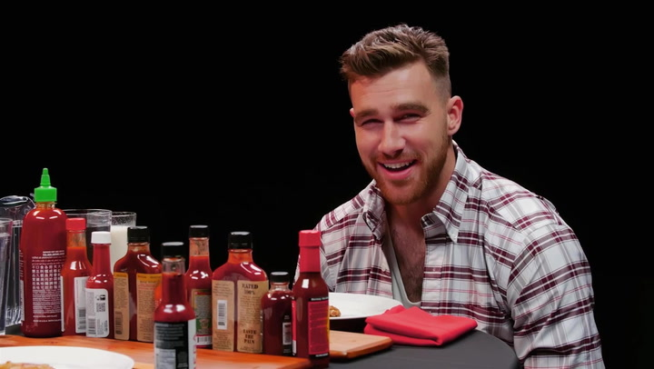 Travis Kelce: Hot Ones