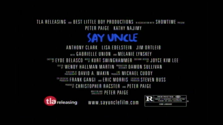 Say Uncle - Trailer