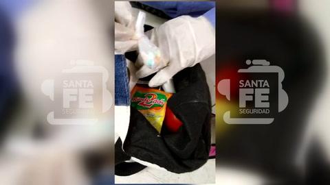 Intentan ingresar un celular a la cárcel escondido en una zapatilla