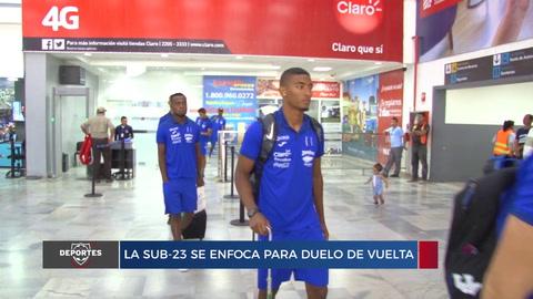 La Sub-23 se enfoca para duelo de vuelta contra Nicaragua