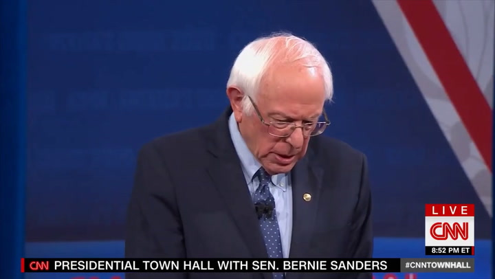 Sanders: 'Some Question' Whether There's Time 'to Prevent the Irreparable Damage' from Climate Change