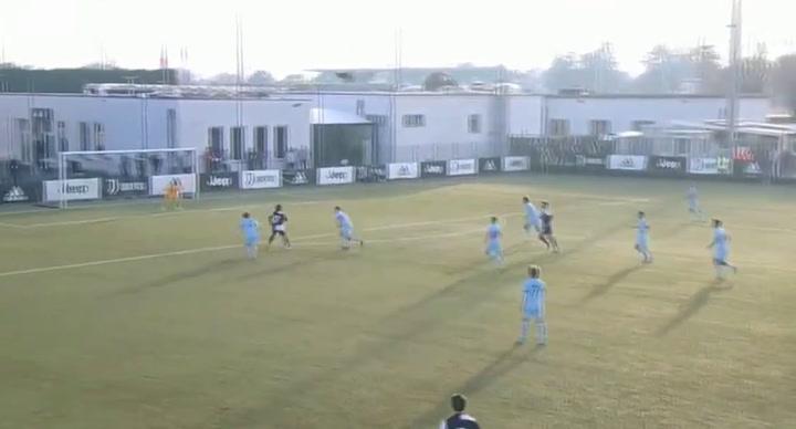 Pablo Moreno se enfrentó al Atlético en la últma Youth League